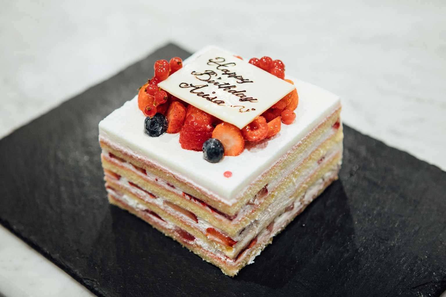 ショートケーキ:オプション