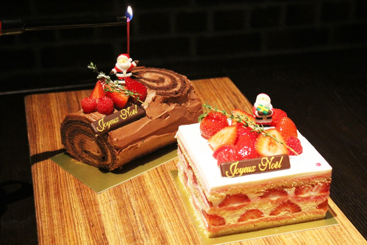 クリスマス2種ケーキ