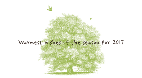 Warmest wishes of the season for 2017