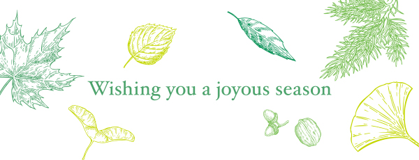 Wishing you a joyous season